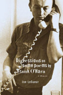 Pdf Digressions on Some Poems by Frank O'Hara
