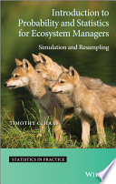 Introduction to Probability and Statistics for Ecosystem Managers Book