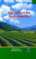 Agriculture for Sustainability