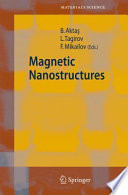 Magnetic Nanostructures