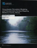 Groundwater Simulation Modeling and Potentiometric Surface Mapping  McHenry County  Illinois Book