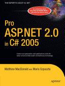 Pro ASP.NET 2.0 in C# 2005 Pdf/ePub eBook