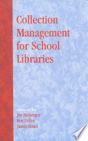 Collection Management for School Libraries Book PDF