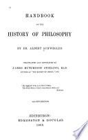 Handbook of the History of Philosophy Book
