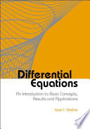 Differential Equations Book