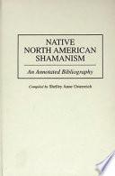 Native North American Shamanism