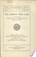 The German War Code Book