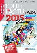Pdf Toute l 'actu 2015 Sujets et chiffres de l 'actualité 2015 - Concours & examens 2016 Telecharger
