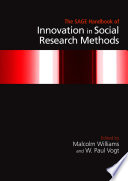 The Sage Handbook Of Innovation In Social Research Methods Book PDF