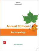 Annual Editions: Anthropology, 38/e