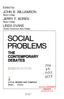 Social Problems Book