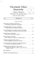 Cleveland Clinic Quarterly