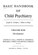 Basic Handbook Of Child Psychiatry Vol  I  Development
