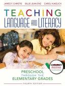 Teaching Language and Literacy