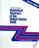 Statistical Abstract Of The United States 2006