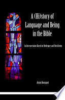 A  Hi story of Language and Being in the Bible