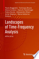 Landscapes of Time Frequency Analysis Book