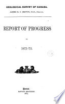 Report of Progress for the Year ...