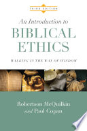 An Introduction to Biblical Ethics Book PDF
