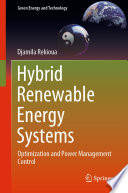 Hybrid Renewable Energy Systems