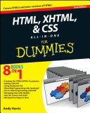 HTML  XHTML and CSS All In One For Dummies