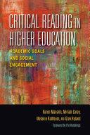 Critical Reading in Higher Education [Pdf/ePub] eBook