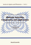 Photonic Networks, Components And Applications - Proceedings Of The Montebello Workshop
