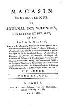 Magasin encyclopédique, ou Journal des sciences, des lettres et des arts redige par Millin, Noel et Warens ebook