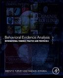 Behavioral Evidence Analysis