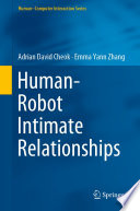 Human   Robot Intimate Relationships