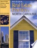 """Modern Real Estate Practice in North Carolina"" by Fillmore W. Galaty, Wellington J. Allaway, Robert C. Kyle, Gary W. Taylor"