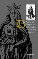 The Power of Eloquence and English Renaissance Literature
