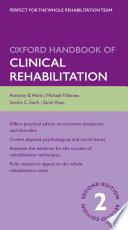 Oxford Handbook of Clinical Rehabilitation Book