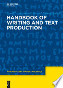 Handbook of Writing and Text Production