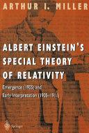 Albert Einstein   s Special Theory of Relativity