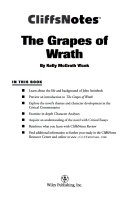 Cliffsnotes On Steinbeck S The Grapes Of Wrath