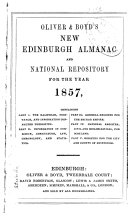 Oliver and Boyd's New Edinburgh Almanac and National Repository