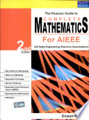 The Pearson Guide to Complete Mathematics for AIEEE