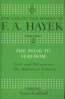 Road to Serfdom Hayek Book