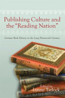 """Publishing Culture and the """"reading Nation"""""""