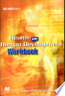 Cover of Health and Human Development Workbook