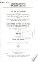 Emmett Till Unsolved Civil Rights Crime Act Pdf/ePub eBook