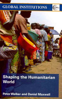 Cover of Shaping the Humanitarian World