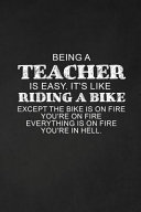 Being A Teacher Is Easy  It s Like Riding A Bike