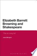 Elizabeth Barrett Browning And Shakespeare Book PDF
