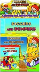 Diggers and Dumpers Colouring and Activity Play Pack