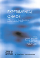 Experimental Chaos