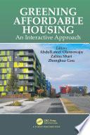 Greening Affordable Housing