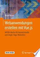 Webanwendungen erstellen mit Vue.js