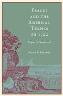 France and the American Tropics to 1700 Pdf/ePub eBook